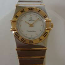 Omega Constellation 18k Gold Steel Watch