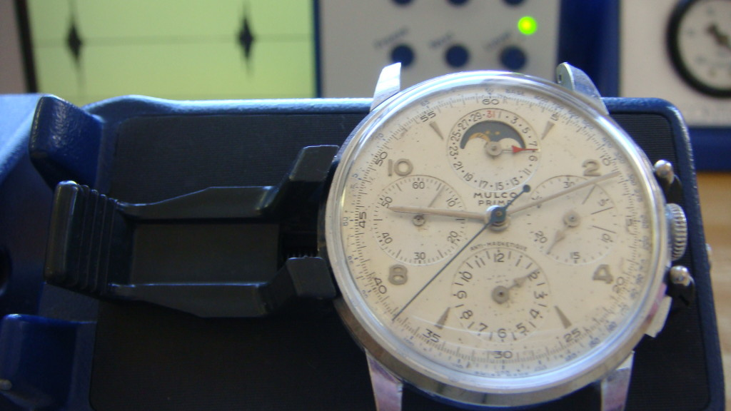 Very vintage watch servicing can