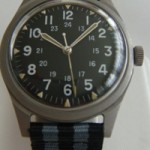 pre-owned Vietnam War Military Watch